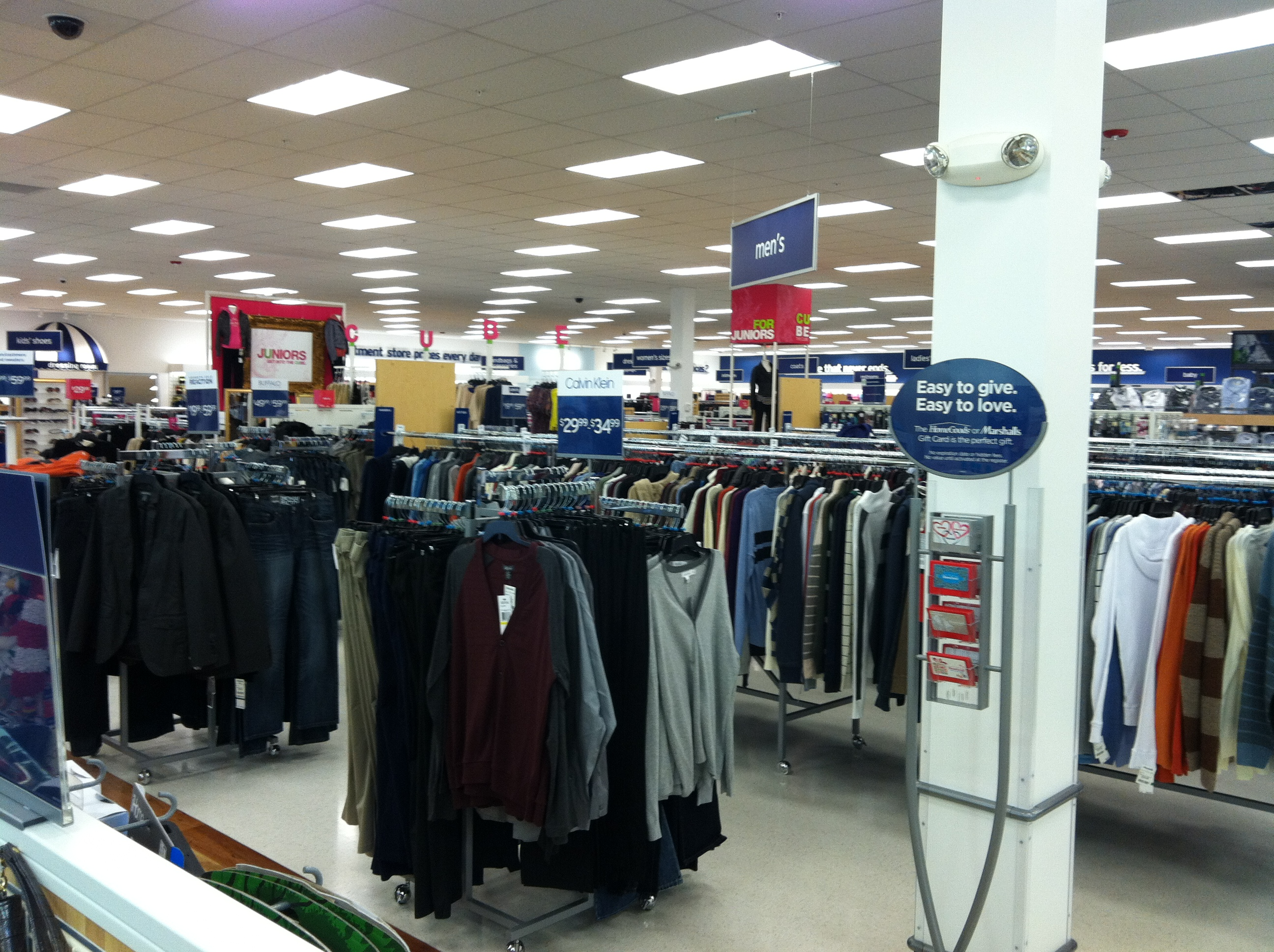 Marshalls Clothing Store Prices