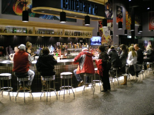 Bar at Cinebarre Issaquah 8
