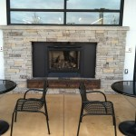 Exterior Seating & Fireplace