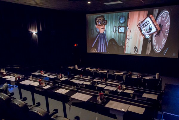 Converted and is now open as a cinebarre the cinebarre issaquah 8