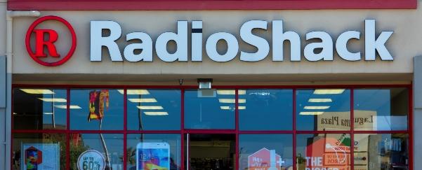 RadioShack retail store exterior